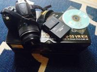 Camera used twice been sitting in box with manual disc