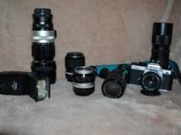 I have a excellent working Nikon FM2 35mm camera with