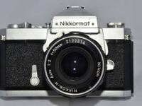 hello, up for sale here is a Nikon Nikkormatt camera.
