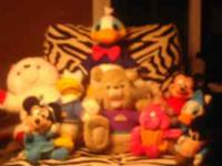 Minnie Mouse, Micky Mouse, Winnie the Poo, Daffy Duck