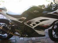 2014 Ninja 300r Limited Edition less than 600 miles