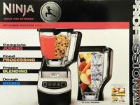 Ninja Kitchen System 1100 Blender -Juicing - Food