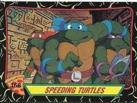 I'm selling some of my old Ninja Turtle cards from the