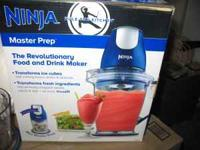 Product Features Your Ninja Master Prep� Comes With