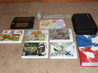 Black Nintendo 3ds XL in great condition.   Black