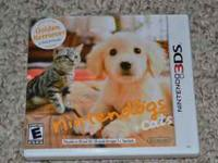 2011 Nintendogs and cats game. Received as a gift and