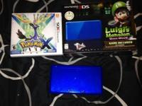 I have a brand name new Nintendo 3DS that consists of 2