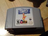 I have 5 Nintendo 64 games that I'm offering. Tigger's