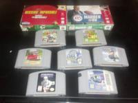 Nintendo 64 Games.  Mario Kart - $40.00. Super Mario 64