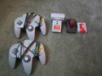 Nintendo 64(games and accesories) 2 controllers 2