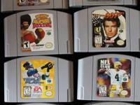Nintendo 64/N64 Games Goldeneye  007 Wayne Gretzky's 3D