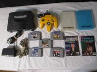 Nintendo 64 with 5 Games  $75 for everything If