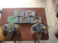 I have a Nintendo 64 in great condition with all