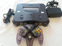 Nintendo 64 Console for SALE, this unit is in great