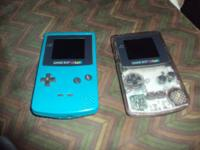 teal nintendo gameboy color it works great ready to