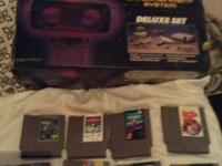 I am selling my Nintendo Deluxe Set with R.O.B the