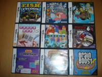 Below is a list of Nintendo DS 2DS, 3DS, DSI, DSI XL,