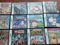 They all have cases except for the 2 GBA games. $20