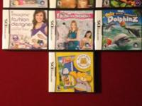 Nintendo DS games $5.each OBO for all