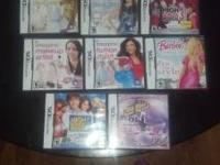 We have 17 Nintendo DS games geared mostly for girls.