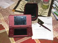 Ds lite XL in excellent condition. Have Manuals, soft