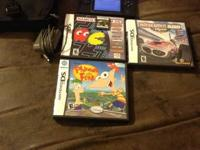 Nintendo ds lite with games Indianapolis 500 legends