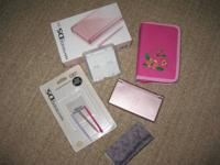 Pink DS Lite, great condition however with one busted