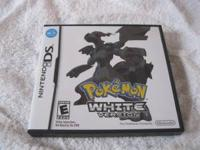 My son is selling his gently used Pokemon White game,