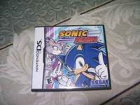 I am selling a Nintendo DS game called Sonic Rush, by