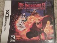 "Nintendo DS The Incredibles ""Rise of The Underminer"" is"