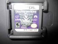 Nintendo DS Transformers Revenge of the Fallen