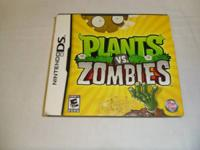 Nintendo DS game: plants vs. zombies rated E(everyone