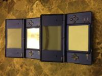 Up for sale are 2 used nintendo dsi color blue the