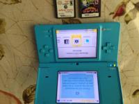 Nintendo dsi light blue,,  (no charger, still have