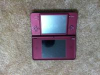 I have a red Nintendo DSI for sale works best no
