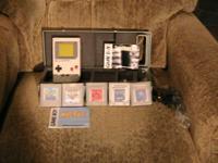 Nintendo game boy....tetris,caesars palace,heianky