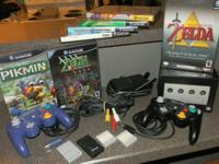 Up for grabs is a Black Nintendo Gamecube {NOTE: You