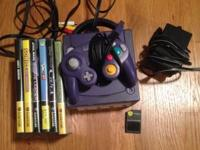 I'm selling my old nintendo gamecube with 6 games for