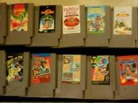 I have 15 classic Nintendo games for sale. Selling all