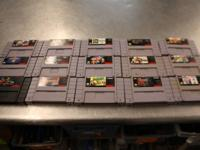 This listing is for assorted Nintendo games for NES
