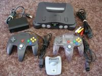 N64 console in excellent working condition. Has been