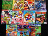 I'm selling a group of video gaming strategy guides