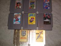 Mike Tyson's Punch Out $20 Castlevania $20 Contra $25