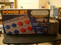 Nintendo NES Power Set complete in original box w/9