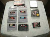 Nintendo,    MVP Baseball in box, Super Mario World,