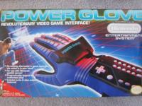 This Nintendo Power Glove is in excellent condition,