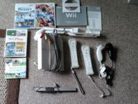 Nintendo Wii complete system. 2 controllers with