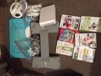 Nintendo Wii for sale, 2006 model with balance board, 2