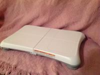 Wii Game System - model RVL-001, Wii Balance Board -