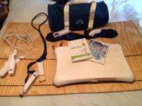 Selling a Nitendo Wii fit board and weights jumprope